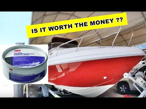 Day 7 - Time to Wax the boat with 3M Ultra Performance Marine Wax