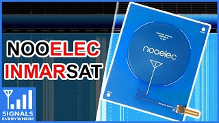 Nooelec NEW Inmarsat Patch Antenna with Airspy SDR