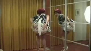 polkadots and pinafore