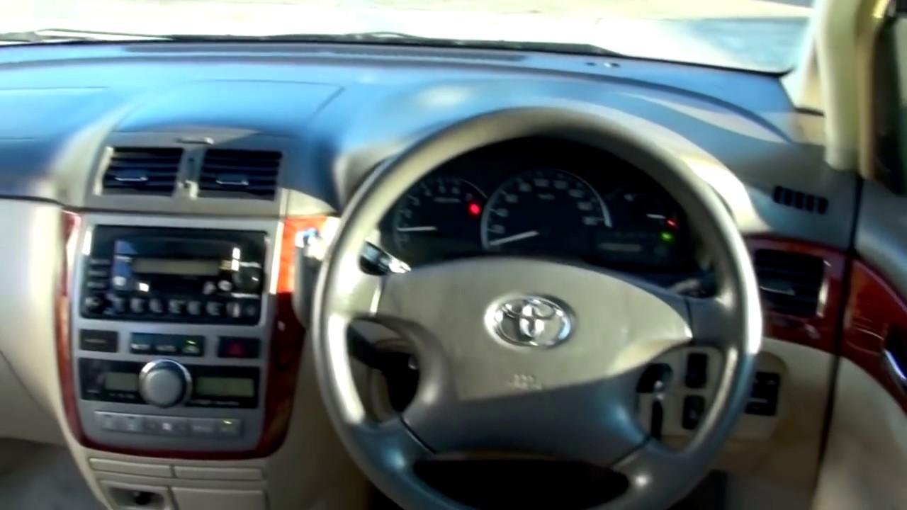 Toyota Ipsum 2001 2 4l Auto Youtube