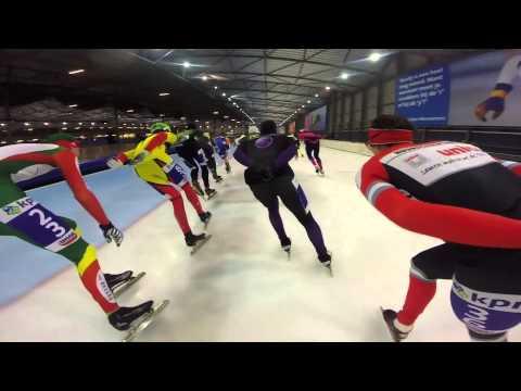 Speed skating GoPro: KPN Marathon Cup 11 Groningen