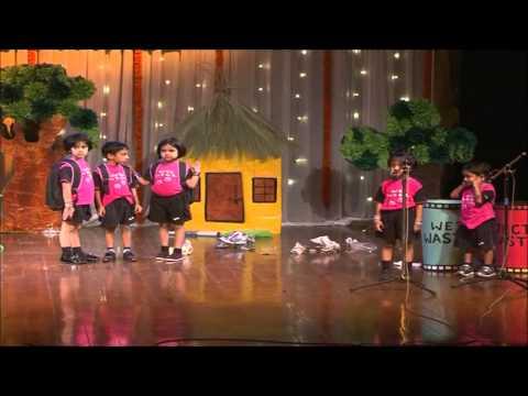 Jayadha - Swachh Bharat - Little Elly School Annual Day Program