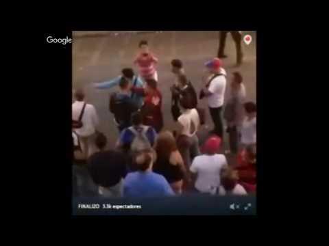 ENCADENADOS VS PROTESTA EN LA VEGA EN VENEZUELA +LUISA ORTEGA EN UNION RADIO