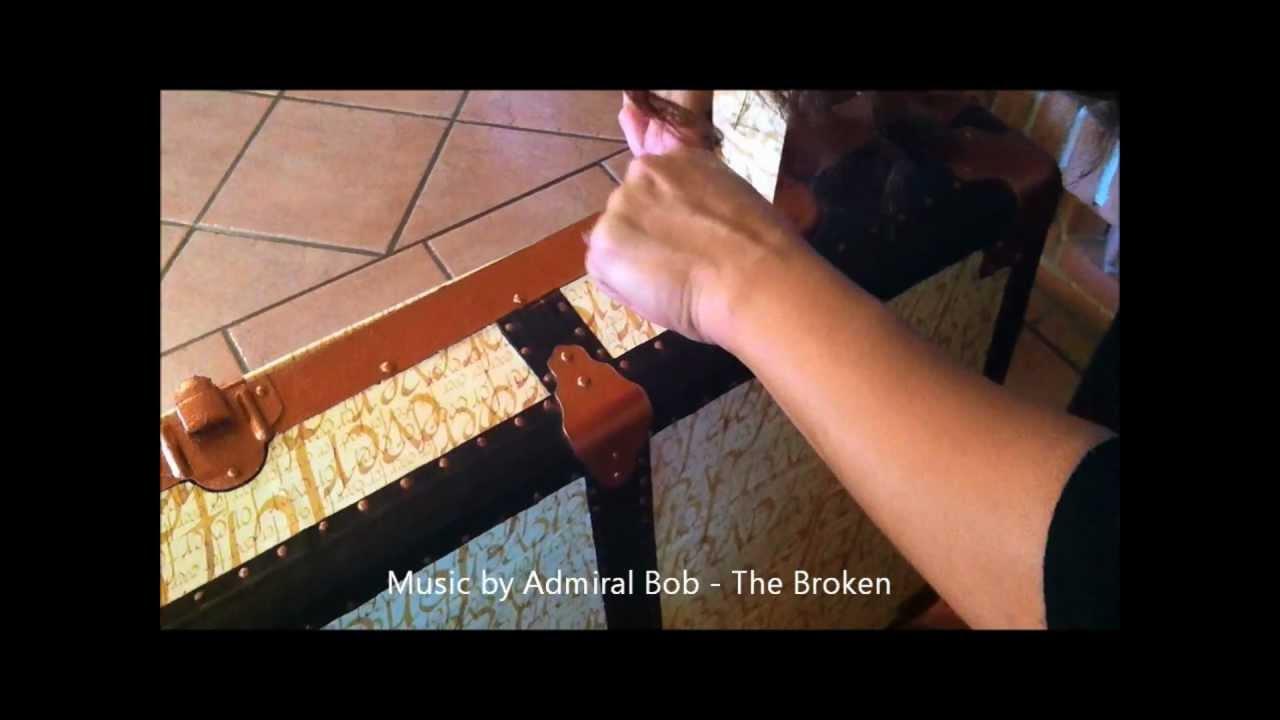 Ben noto Come ho restaurato il vecchio baule. - YouTube LN81