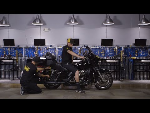 Setting the sag for your Harley-Davidson