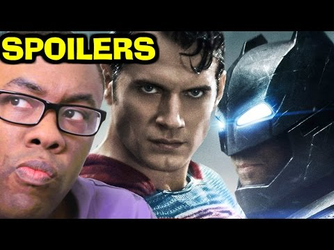 BATMAN v SUPERMAN Dawn of Justice SPOILERS REVIEW