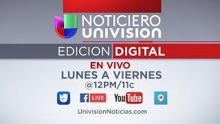 Repeat youtube video Noticiero Univision #EdicionDigital 3/24/17