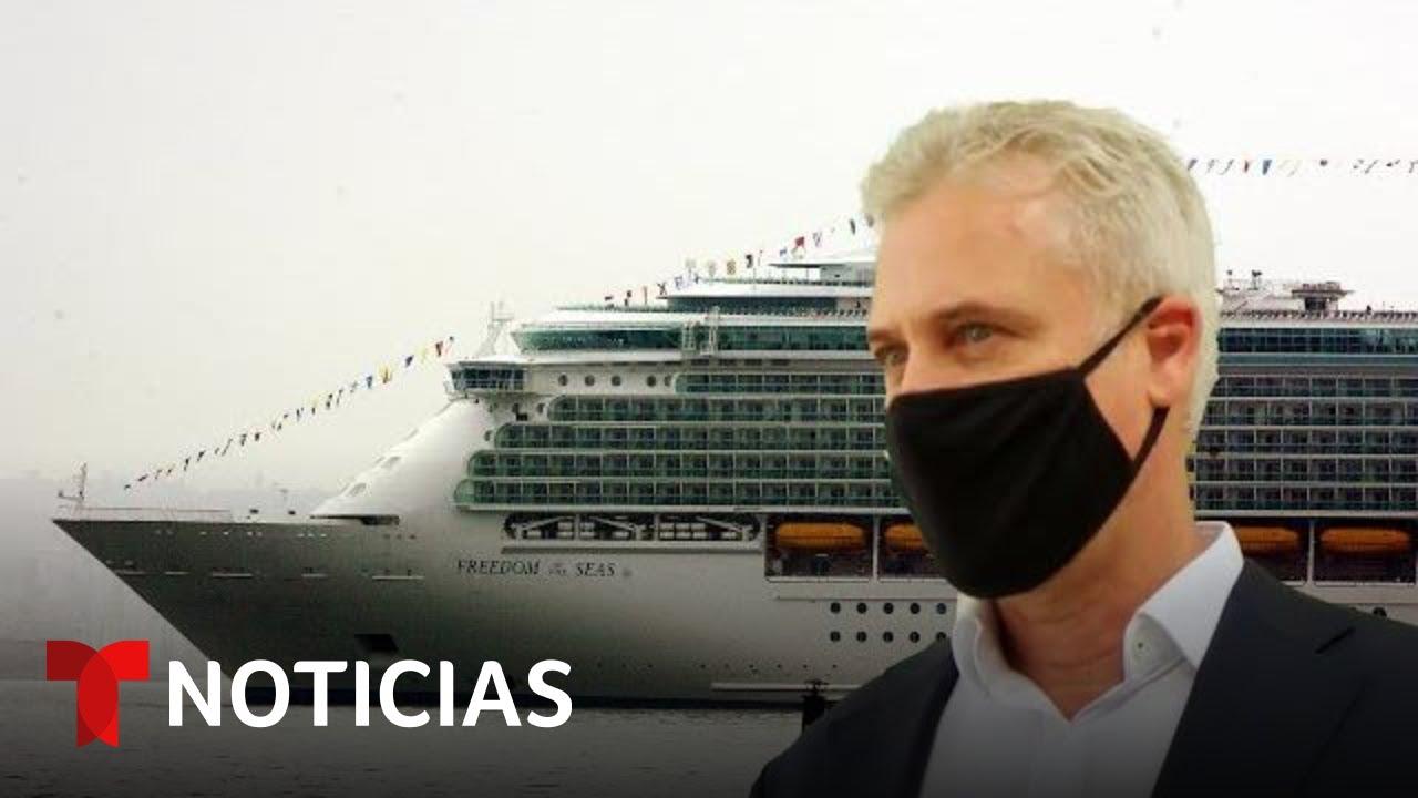 Habla un capitán de Royal Caribbean tras crucero simulado | Noticias Telemundo