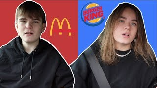 MCDONALDS VS. BURGERKING