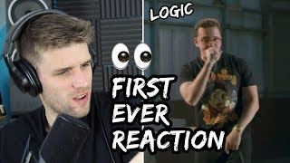 Rapper Reacts to Logic For The First Time!! | NO PRESSURE FREESTYLE