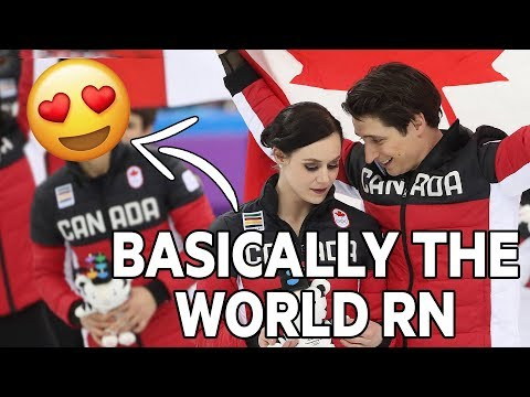 Virtue and Moir are not in love but the world wants them to be