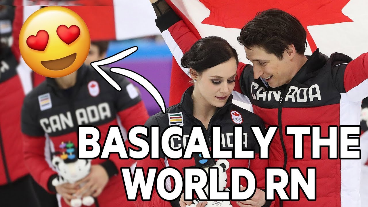 Virtue and Moir are not in love but the internet wants them to be #1