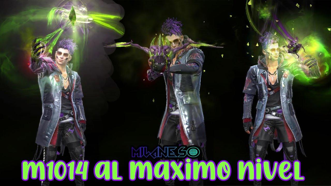 M1014 EVOLUTIVA DRAGÓN FLAMA VERDE AL MAXIMO NIVEL EN FREE FIRE - ATRIBUTOS OFICIALES - MILANESO