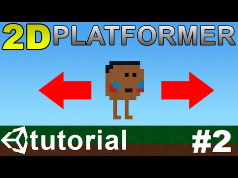2  Making a 2D Platformer in Unity (C#) - Moving Player