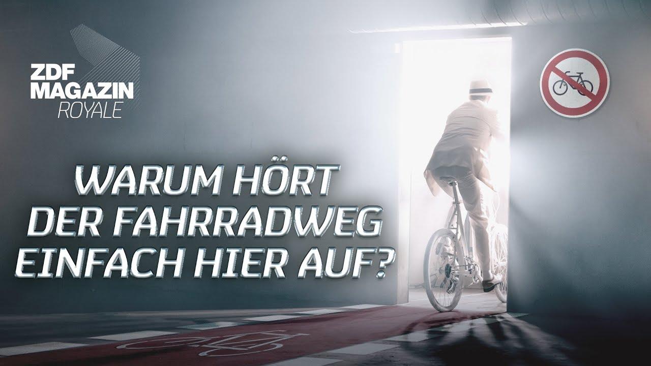 """Jan Böhmermann - """"Warum hört der Fahrradweg einfach hier auf?""""   ZDF Magazin Royale"""