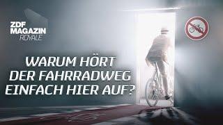 """Jan Böhmermann: """"Warum hört der Fahrradweg einfach hier auf?"""""""
