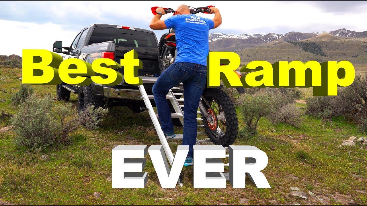 Dirt Bike Ramp >> The Best Dirt Bike Ramp Ever Step Ramp Review