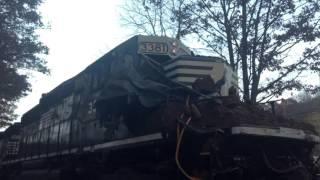 TRAIN VS DUMP TRUCK!!!
