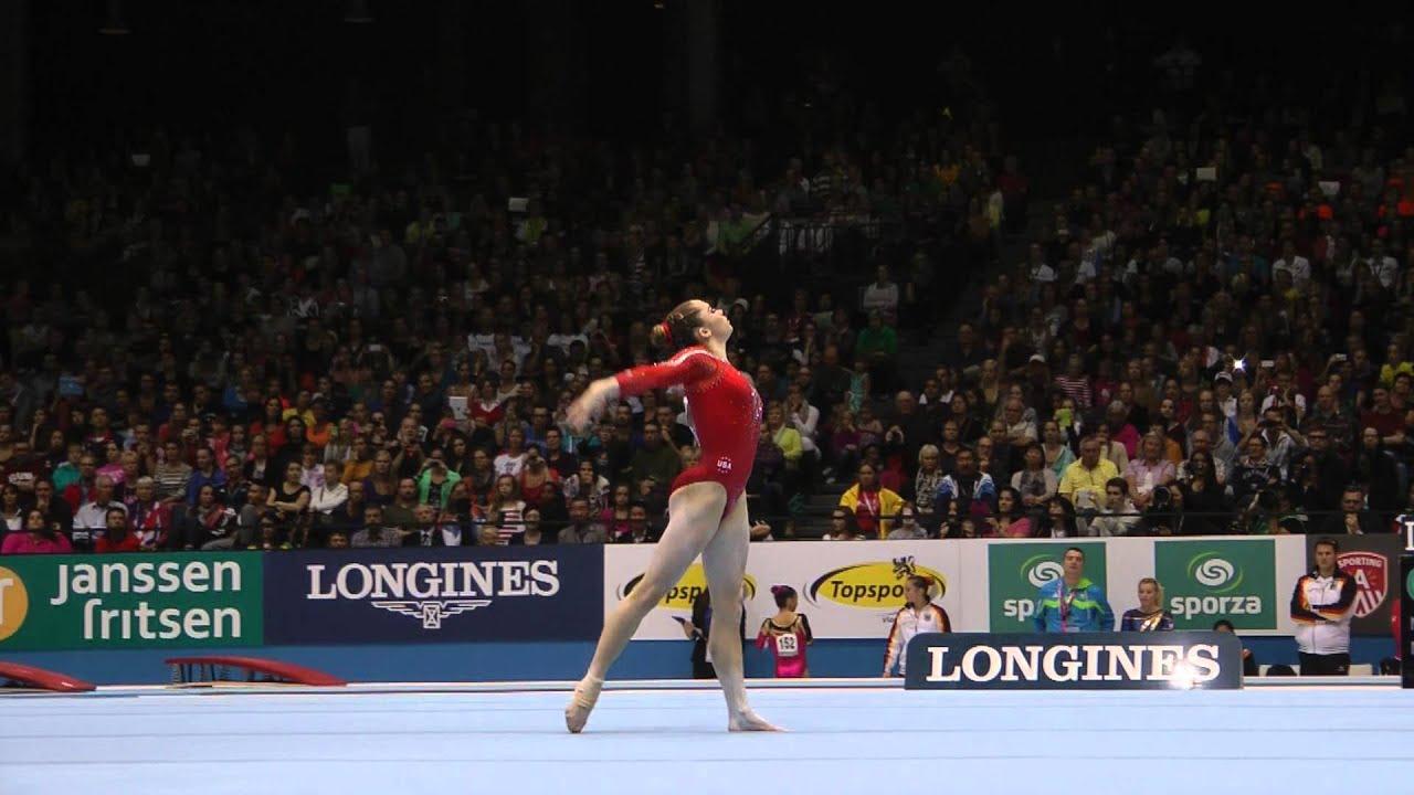 Mckayla Maroney Floor 2013 World Championships