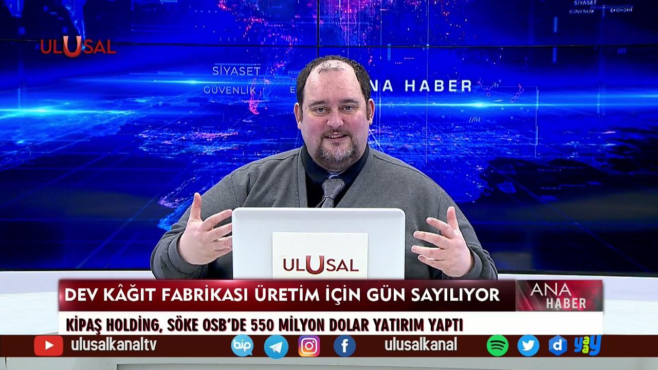 Ana Haber - 22 Mart 2021 - Teoman Alili - Hakan Topkurulu - Ulusal Kanal -  YouTube