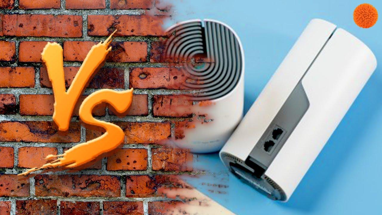 Wi-Fi MESH СЕТЬ vs БЕТОННАЯ СТЕНА   Тест устройств от TP-Link