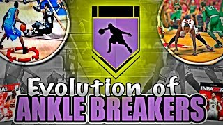 EVOLUTION OF ANKLE BREAKERS IN NBA 2K! (NBA 2K11- 2K17)