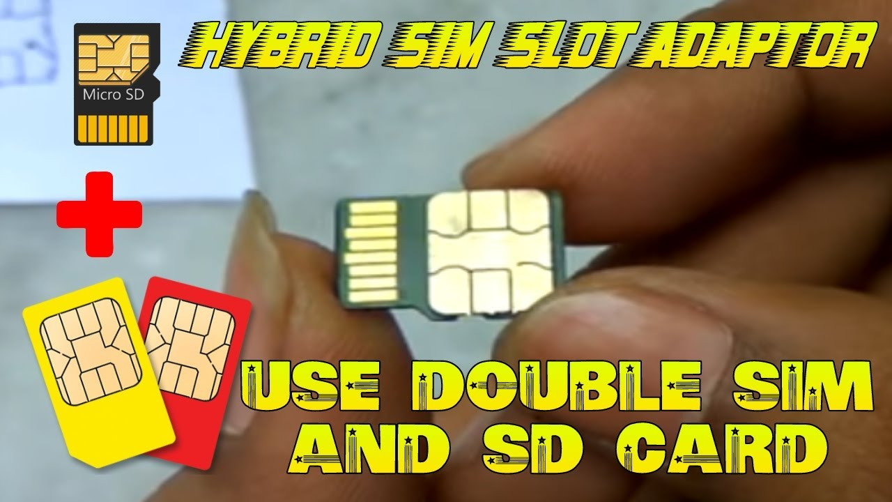 All cards on one card - Use Two Sim Cards And One Micro Sd Card Simultaneously In Hybrid Sim Slot All At A Time By C Va