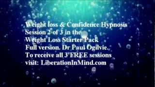 FREE Weight loss & Confidence Hypnosis-Session 2 of 3