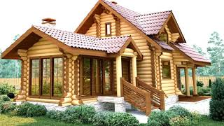 Beautiful wooden houses