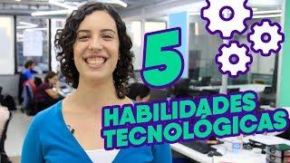 5 Habilidades Tecnológicas Essenciais para qualquer Emprego!