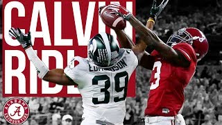 Calvin Ridley || The Best Wide Receiver in the Draft ||