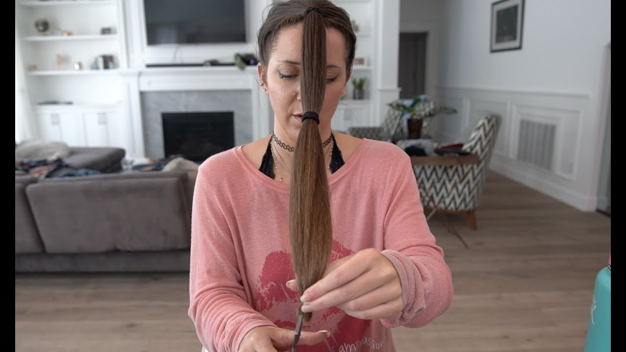 Trimming My Own Hair