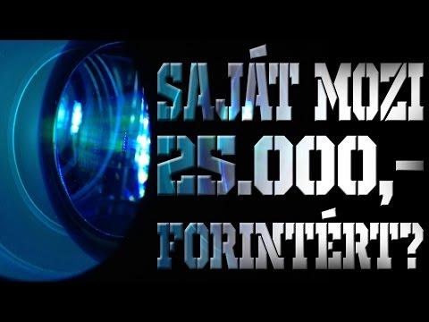 Egy Saját Mozi 25.000 forintért? - UNIC UC46 Mini Projektor