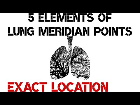 5 Elements Of Lung Meridian Points | Exact Location