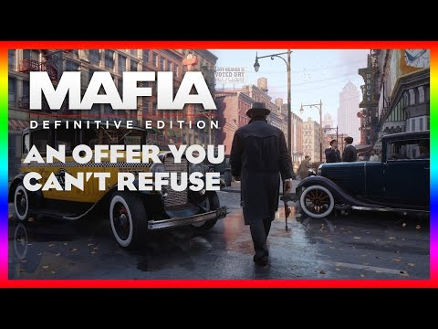 mafia definitive edition | Game play | Part 1 |  walkthrough for the main mission 1 An Offer You Can |