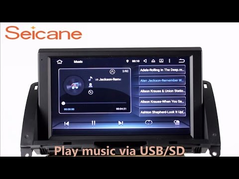 Android 5 1 1 2007 2011 mercedes benz c class w204 for Mercedes benz music system