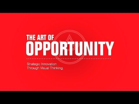 The Art of Opportunity:  Strategic Innovation Through Visual Thinking