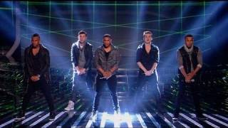 Nu Vibe are Beautiful People - The X Factor 2011 Live Show 1 - itv.com/xfactor