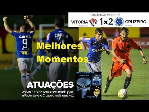 Vitória 1 x 2 Cruzeiro Melhores Momentos Narração Albertinho Lombriga 98FC 98Live Copa do Brasil 3ª
