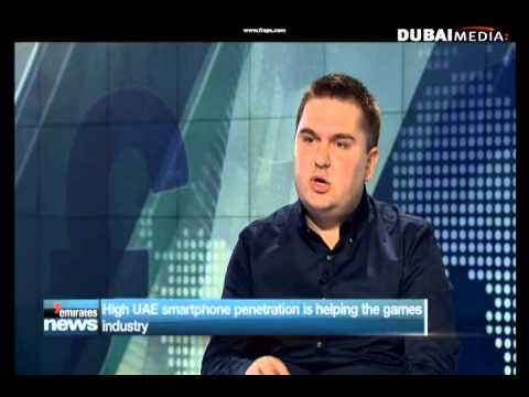 Game Insight 2013-11-17 Dubai One TV Interview with Andrey Akimov