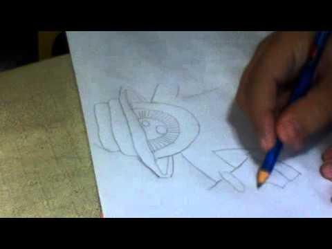 Como Fazer Desenhos De Pichacao Youtube