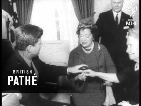 President Kennedy Meets Helen Keller (1961)