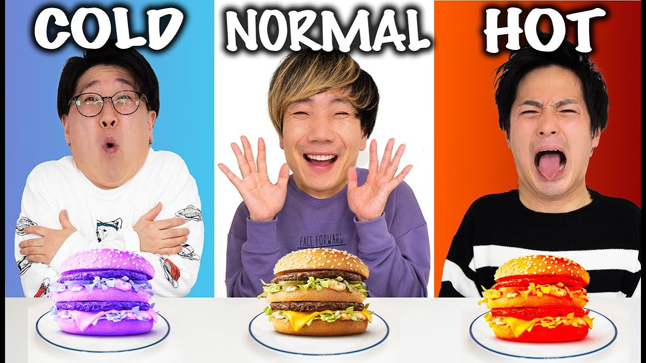 【激辛VS激冷】選んだマクドナルドのメニュー食べきるまで終われません!