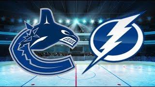 Vancouver Canucks vs Tampa Bay Lightning (4-1) – Oct. 11, 2018 | Game Highlights | NHL 2018