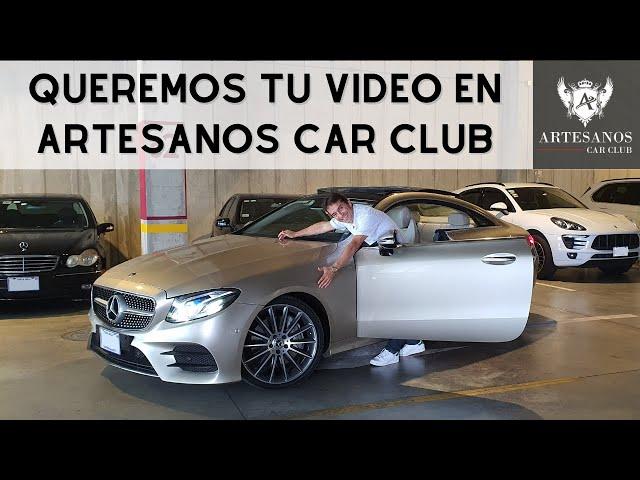 Queremos tu vídeo en Artesanos Car Club