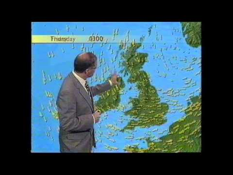 BBC Weather 29th July 1998