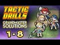 Tactic Drills: GRANDMASTER 1-8 Solutions | Fire Emblem Heroes Guide