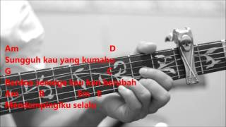 Araa - Warkah Untukku Akustik (Karaoke & Kord Gitar)