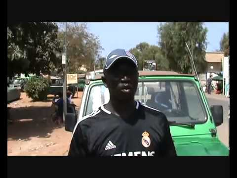 Gambia tourist guide and taxi driver