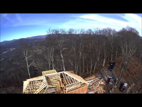 Charlie Lanning Construction - Knight Residence, Roof Nov 25th 2014